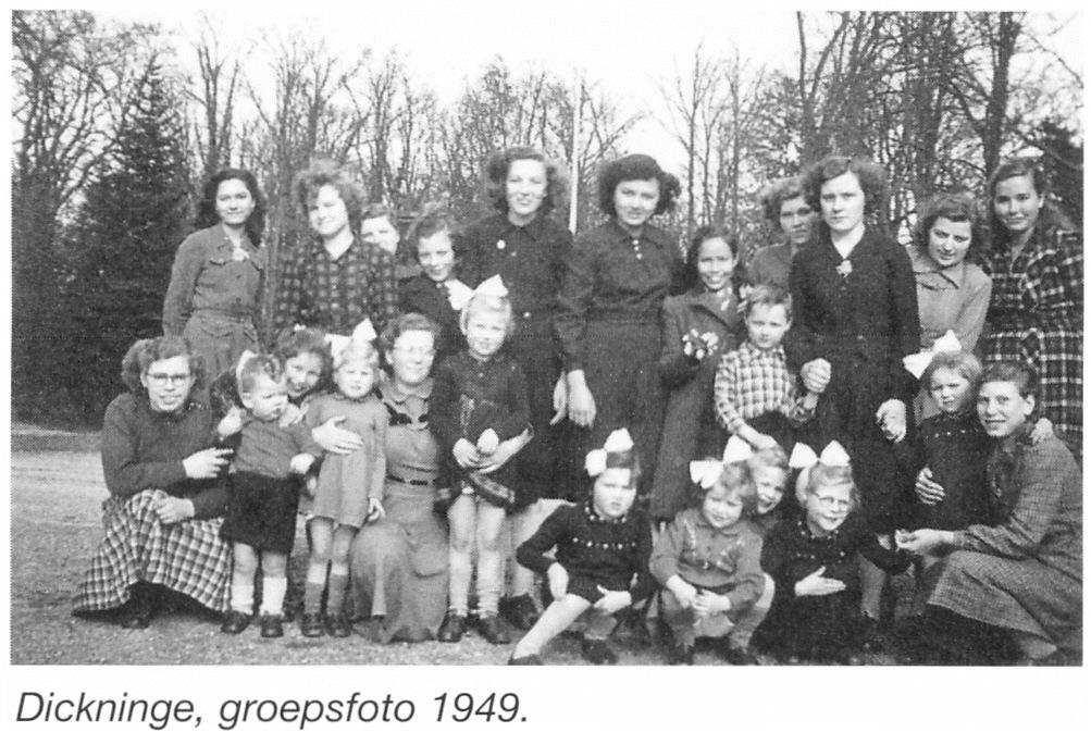 Jongens  En Meisjesinternaat De Havixhorst En Dickninge, Jaren Vijftig  Vorige Eeuw (2)