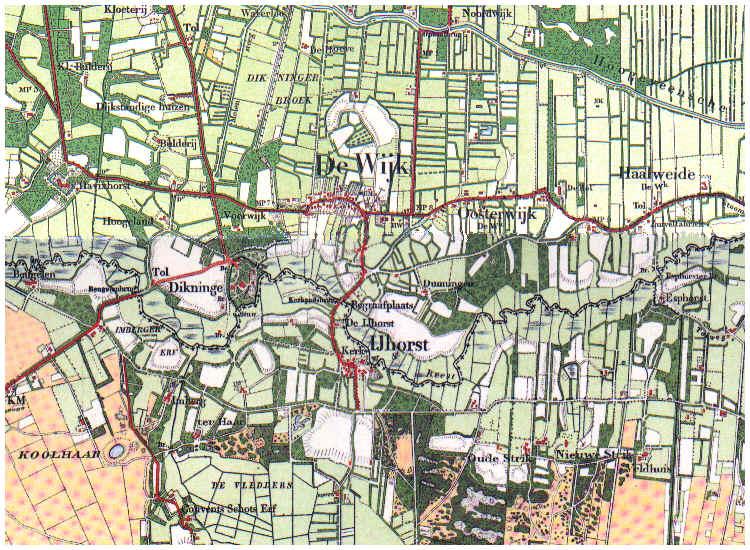 de wijk kaart